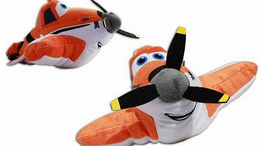 Dusty Crophopper 8 Planes Plush Soft Toy Cropduster Pixar Disney High Quality Doll