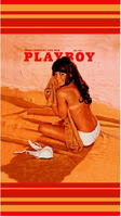 Playboy Playmate BEACH TOWEL 70s STYLE