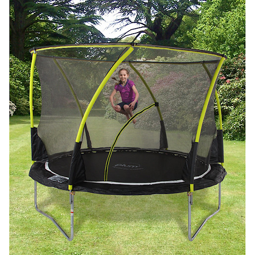 Plum 10 Foot Whirlwind Trampoline and 3G Enclosure