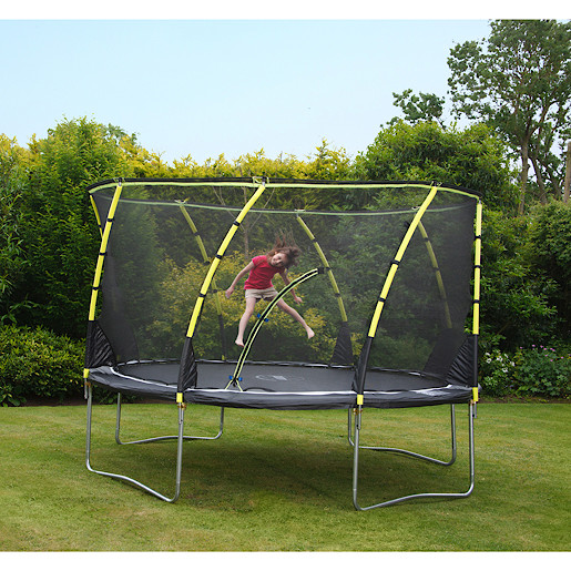 Plum 14 Foot Whirlwind Trampoline and 3G Enclosure