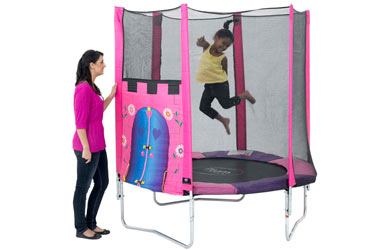Plum Palace 6ft Trampoline and Enclosure