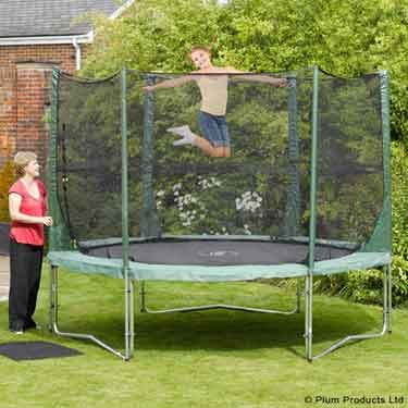 Plum Products © 12ft Trampoline and Enclosure