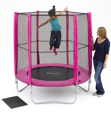 Plum Products © 6ft Pink Trampoline with Enclosure