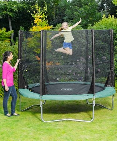 Plum Products © Space Zone 8ft Trampoline and 3G® Enclosure