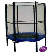 Plum Products 6ft Trampoline and Enclosure