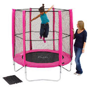 Plum Products 6Ft Trampoline Pink