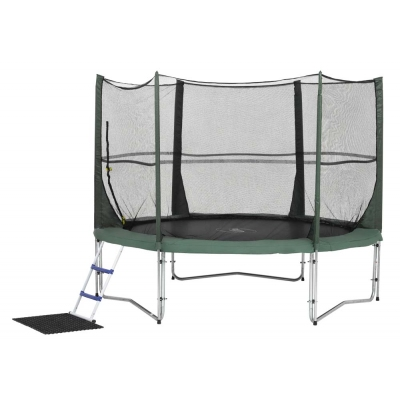 Plum Products 8ft FamilyTrampoline and 3G Enclosure MATT013