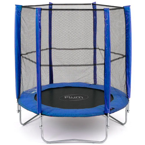 PLUM PRODUCTS LTD 6ft Blue Trampoline and Enclosure