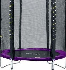 Plum Products Play Plum® Stardust Trampoline and Enclosure