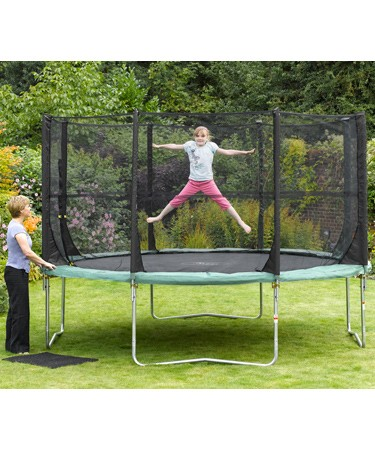 Space Zone 12ft Trampoline and 3G® Enclosure