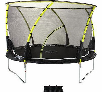 Plum Whirlwind Trampoline and Enclosure 14ft