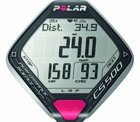 Polar CS500  Heart Rate Monitor and Cycling Computer