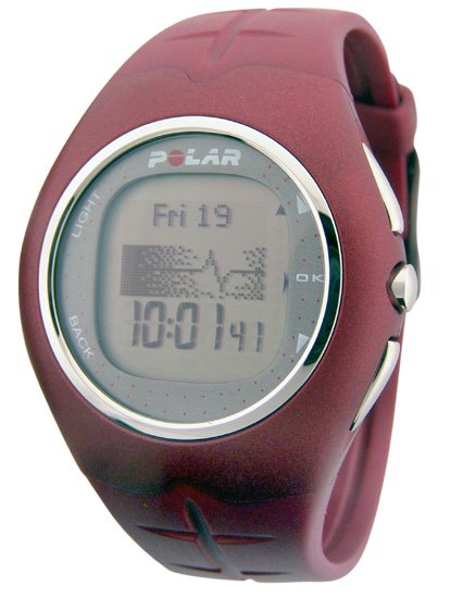 Polar F11 Fitness Heart Rate Monitor Red Chili