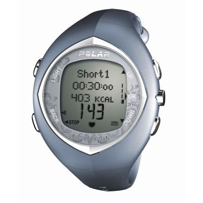 Polar F11F Blue Heart Rate Monitor Watch (90032181 -