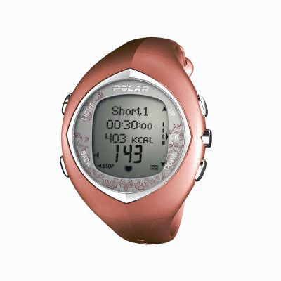 Polar F11F Pink Heart Rate Monitor Watch (90031442)