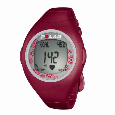 Polar F4F Red Heart Rate Monitor Watch (90031488)