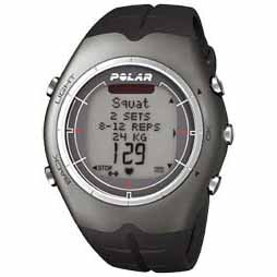Polar F55 Lava Aluminium Heart Rate Monitor Watch