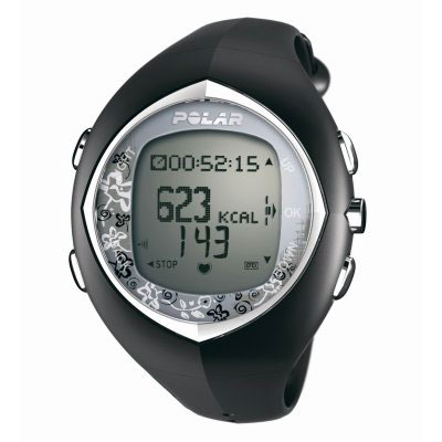 Polar F6F Black Heart Rate Monitor Watch (90032170 - F6F Black)