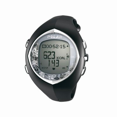 Polar F6F Black Heart Rate Monitor Watch (90032170 -