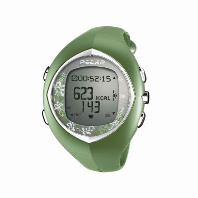 Polar F6F Green Heart Rate Monitor Watch (90031454)