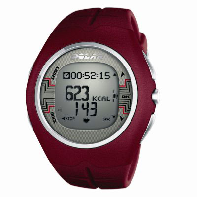 Polar F6M Red Heart Rate Monitor Watch (90031448 - F6M Red)