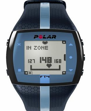 Polar FT4 Heart Rate Monitor and Sports Watch - Blue
