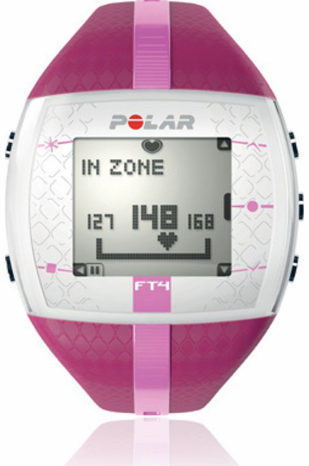 Polar FT4 Womens Heart Rate Monitor Watch