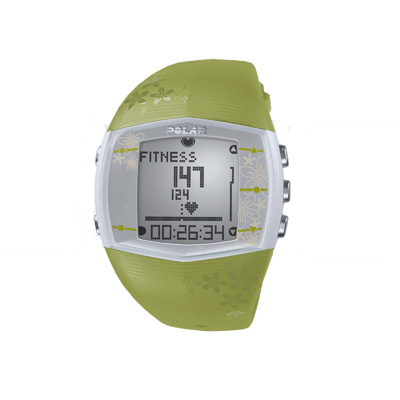 Polar FT40F Green Fitness Heart Rate Monitor