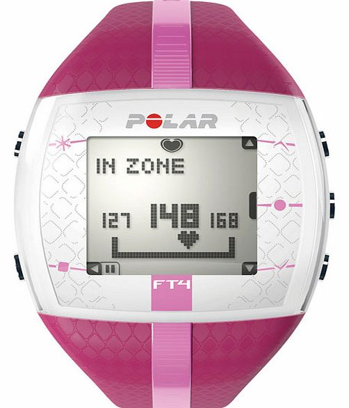 Polar FT4F Heart Rate Monitor - Purple/Pink