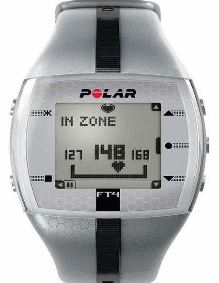 Polar FT4M Heart Rate Monitor - Silver 90036750