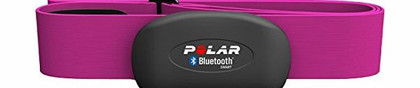Polar H7 Bluetooth 4.0 Heart Rate Sensor Set for iPhone 4S/5 - Pink