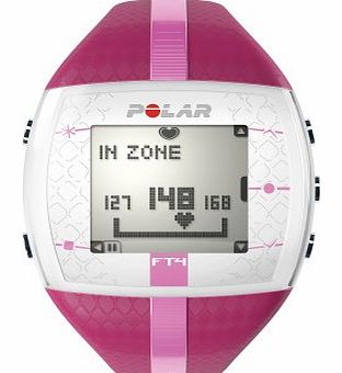 Polar  FT4F Heart Rate Monitor, Purple/Pink