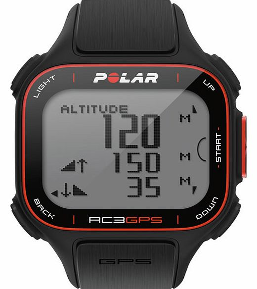 Polar RC3 90048175 GPS Heart Rate Monitor With