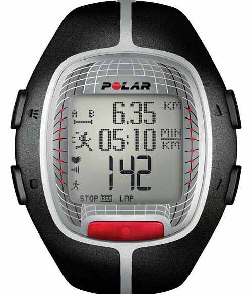 Polar RS300X Heart Rate Monitor - Black 90036620