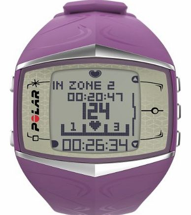 Polar Womens FT60 Heart Rate Monitor and Sports Watch, Purple(Womens)