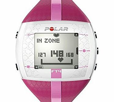 Polar Womens Ladies Ft4 Hrm30 Fitness Running Pulse Heart Rate Monitor Watch