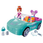 Goody World Vehicle Convertible Doll