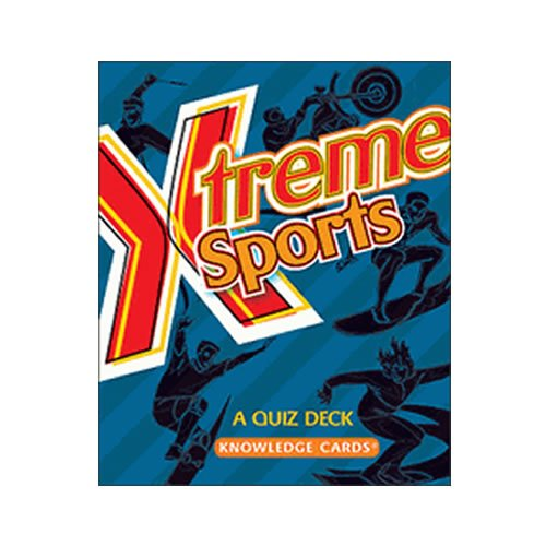 Gifts Pomegranate Xtreme Sports Quiz Cards