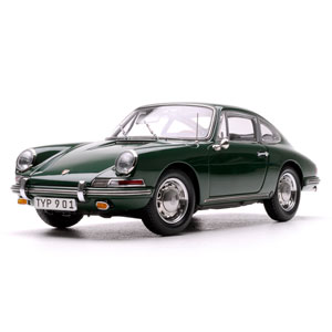 porsche 911 (901) Coupe 1964 - Green 1:18