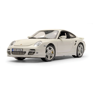 porsche 911 Turbo 2006 - White 1:18
