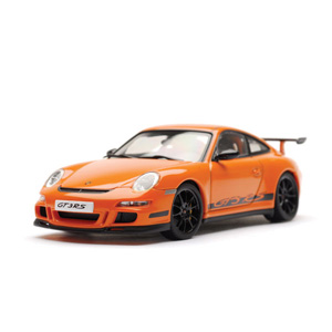porsche 997 GT3 RS - Orange/black 1:43