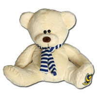 Maisy Teddy Bear - Gold - Large.