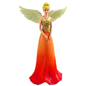 power of Believing October Angel Figurine