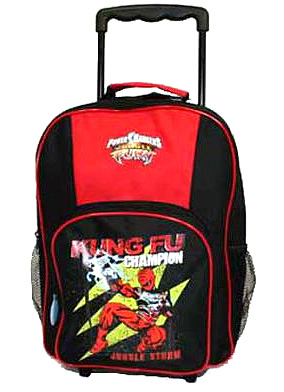 Rangers Jungle Fury Wheeled Bag