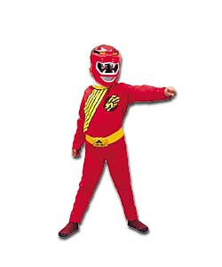 Wild Force Red Ranger Costume