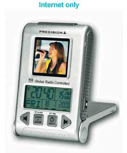 Global Travel Alarm with Digital Photo Frame