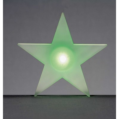 12cm LED Frosted Star Window Sucker