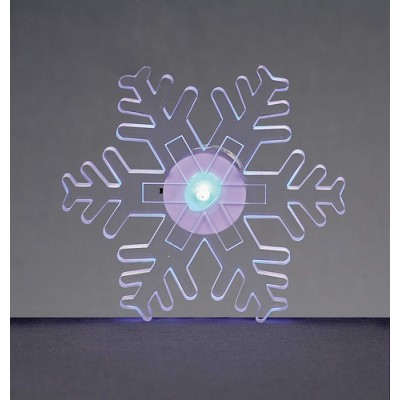 12cm LED Snowflake Window Sucker