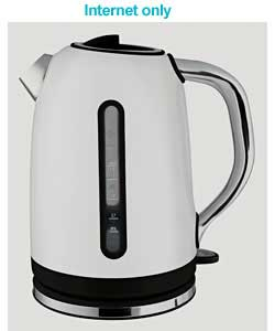 prestige Deco White Jug Kettle