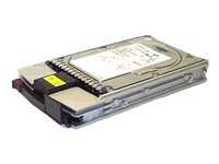 Hard drive - 147 GB - hot-swap - 3.5 - Ultra320 SCSI - 80 pin Centronics (SCA-2) - 10000 r